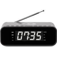 Rádio Despertador Thomson com Carregador Wireless - Preto