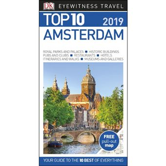 Eyewitness Top 10 Travel Guide - Amsterdam 2019