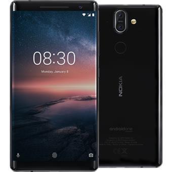Smartphone Nokia 8 Sirocco - 128GB - Preto