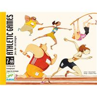 Cartas Athletic Games - 60 Cartas - Djeco