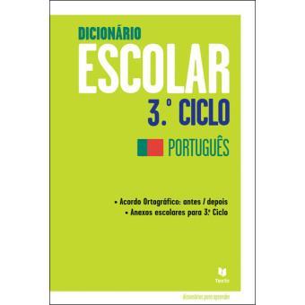 Dicionário Escolar 3º Ciclo - Português