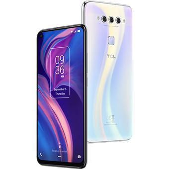 Smartphone TCL Plex - 128GB - Branco