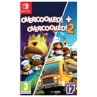 Overcooked! + Overcooked! 2 - Nintendo Switch