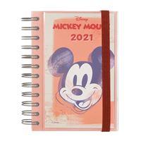 Agenda Diária 12 Meses 2021 Erik Espiral - Mickey Mouse