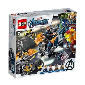 LEGO Marvel Avengers Movie 4 76143 Ataque de Camião dos Vingadores