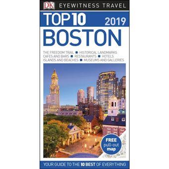 Eyewitness Top 10 Travel Guide - Boston 2019