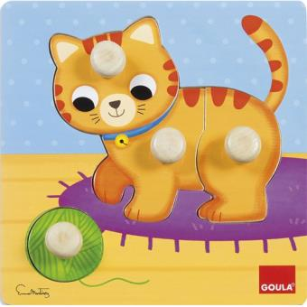 Puzzle Gato - Goula
