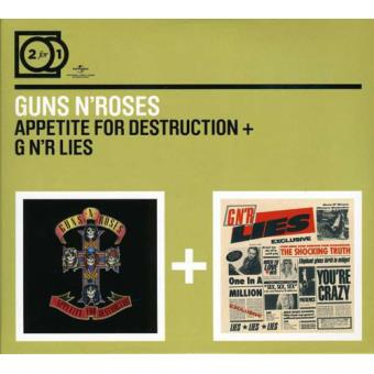 Appetite For Destruction / G N'R Lies (2CD)