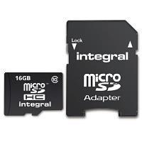 Integral microSDHC 16GB 40MB/s Classe 10