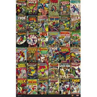 Poster Marvel Classic Cover