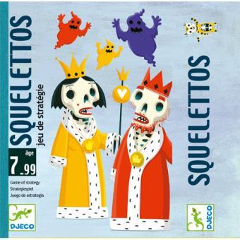 Cartas - Esqueleto (Tática) - Djeco