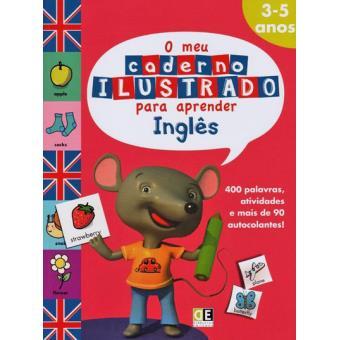 O Meu Caderno Ilustrado Para Aprender Inglês