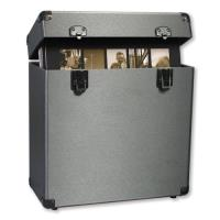 "Vinyl Styl Groove 12"" Vinyl Record Carrying Case Box (Graphite)"