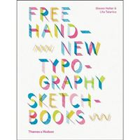 Free Hand New Typography Sketchbooks