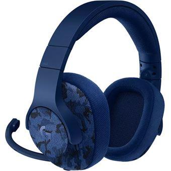 Auscultadores Gaming Logitech G433 7.1 Surround - Azul Camuflado