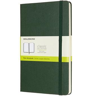 Caderno Liso Moleskine Grande - Verde Myrtle