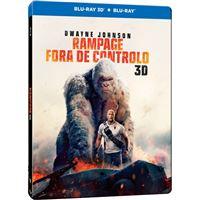Rampage: Fora de Controlo - Edição Steelbook - Blu-ray 3D + 2D