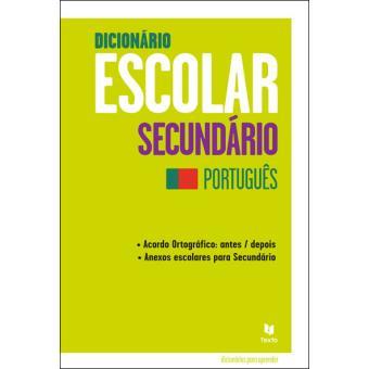 Dicionário Escolar Secundário - Português