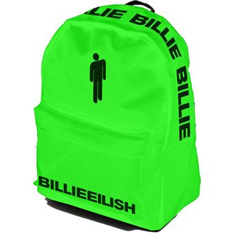 Mochila Rocksax Billie Eilish Bad Guy - Verde