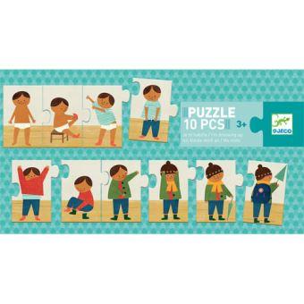 Puzzle Visto-me Sozinho 10 Peças - Djeco