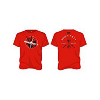 T-Shirt-Star Wars-BOBBA FETT (L)