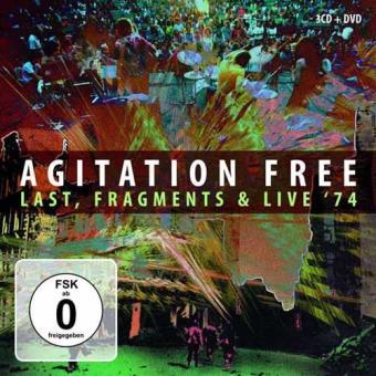 Agitation Free: Box (Fragments, Live 74 & Last) (3CD+DVD)