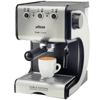 Ufesa Máquina Café Expresso Duetto Creme