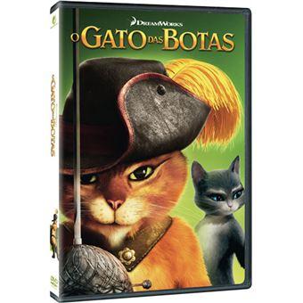 O Gato das Botas - DVD