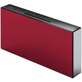 Sony Sistema Micro CMT-X3CD Bluetooth (Vermelho)