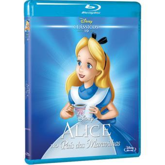 Alice no País das Maravilhas (Blu-ray)