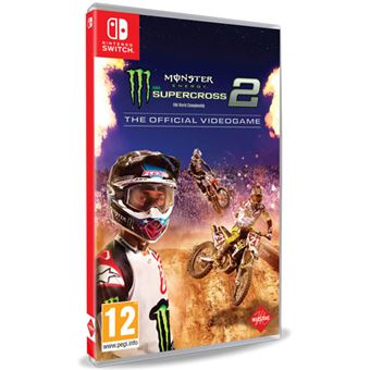 Monster Energy Supercross 2: The Official Videogame - Nintendo Switch