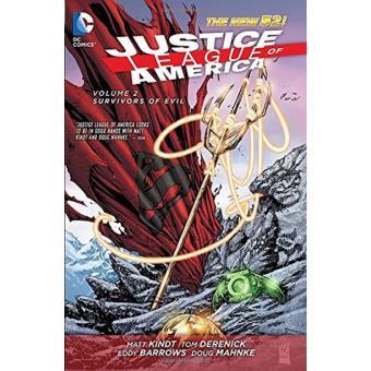 Justice League of America Vol 2 Survivors of Evil