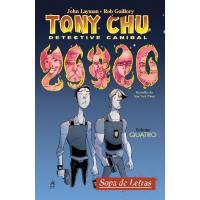 Tony Chu, Detective Canibal - Livro 4: Sopa de Letras