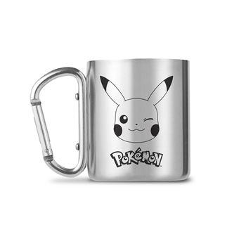 Caneca com Mosquetão Pokémon: Pikachu