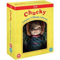 Chucky: Complete 7 Movie Collection - 7Blu-ray Importação