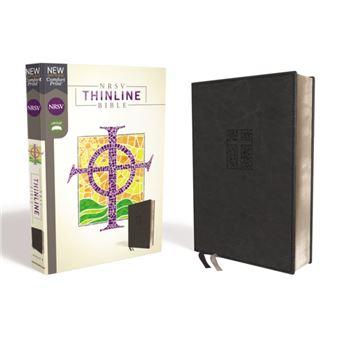 Nrsv, thinline bible, leathersoft,