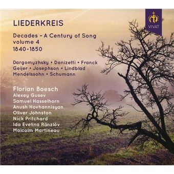 Liederkreis: Decades - a Century of Song Vol.4 1840-50 - CD
