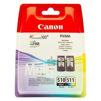 Canon Pack Tinteiro PG-51 Preto/CL-511 Cor
