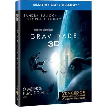 Gravidade (Blu-ray 3D + 2D)
