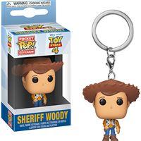 Funko Keyring Pop! - Toy Story 4 Sheriff Woody