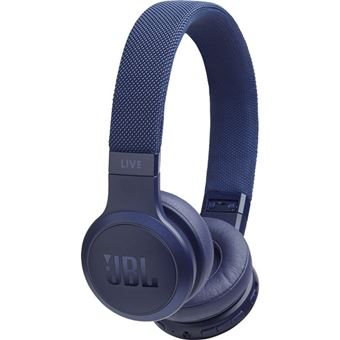 Auscultadores Bluetooth JBL Live 400BT - Azul