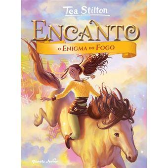 Encanto - Livro 4: O Enigma do Fogo