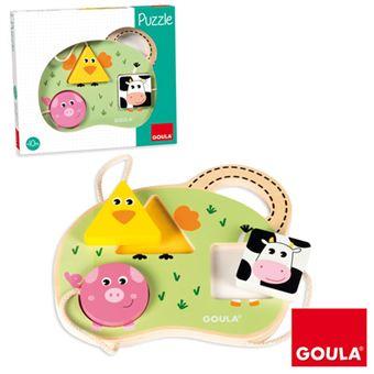 Puzzle 3 Animais da Quinta - Goula