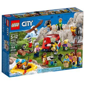 LEGO City Town 60202 Pack de Pessoas - Aventuras ao Ar Livre