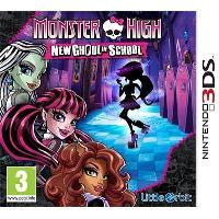 Monster High: New Ghoul In School 3DS