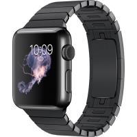 Apple Watch 38mm Aço Inoxidável | Bracelete - Preto Sideral