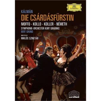 KALMAN-DIE CSARDASFURSTIN (DVD)
