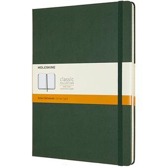 Caderno Pautado Moleskine XL - Verde Myrtle