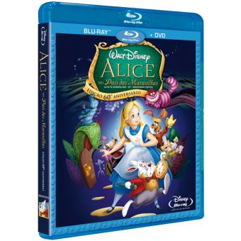 Alice no País das Maravilhas – Edição 60º Aniversário (Blu-ray + DVD)