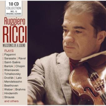 Ruggiero Ricci: Milestones of a Legend - 10CD